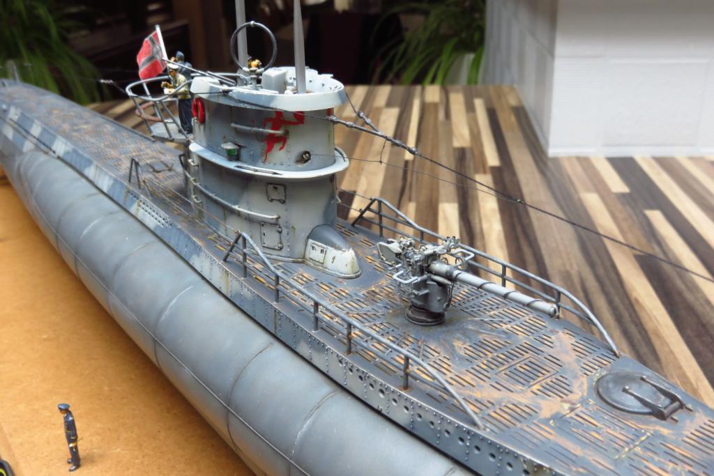 U Boat type VII C REVELL 1/72 Img_2611