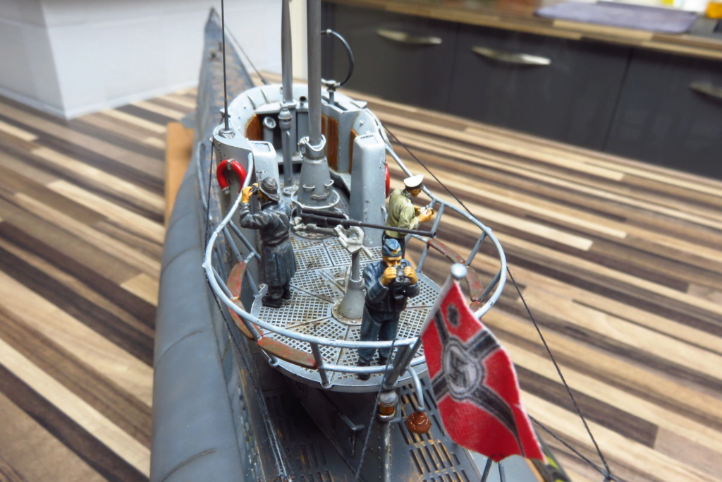 U Boat type VII C REVELL 1/72 Img_2612