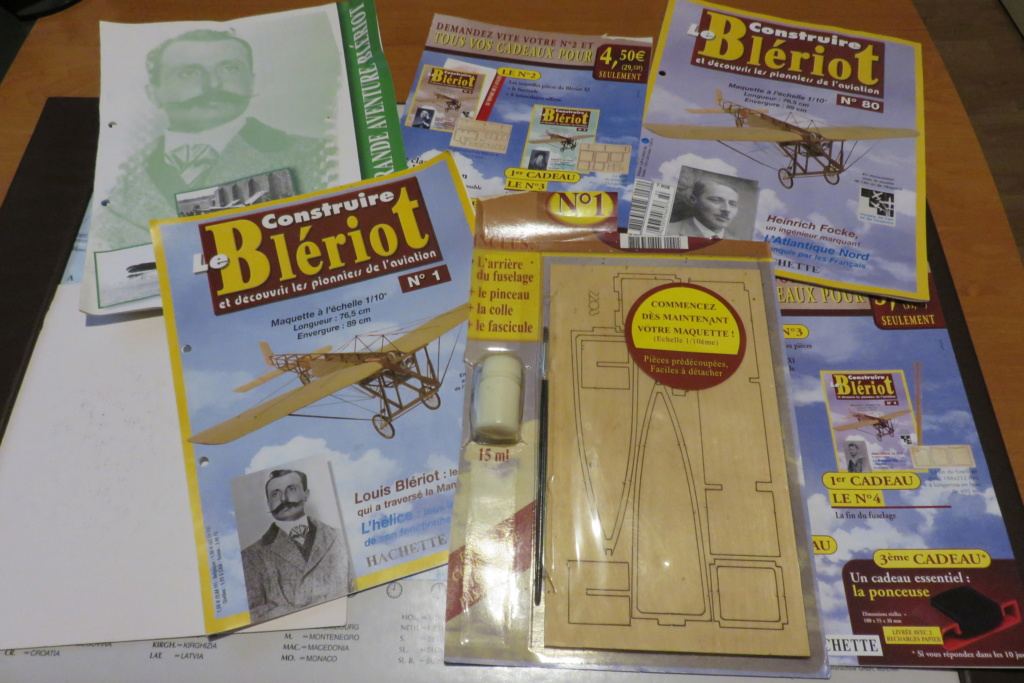 Blériot XI 1/10è  Hachette Img_4631