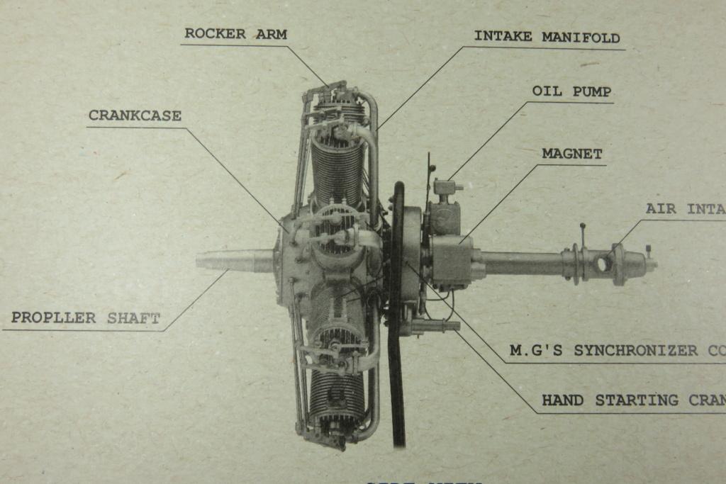 Moteur Clerget Model 9b - Hasegawa 1/8 Img_4755