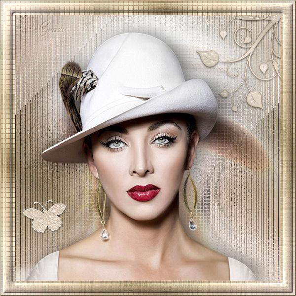 """challenge """"Femme chapeau"""" Chapea10"""
