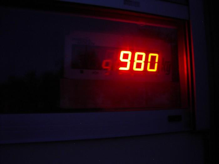 Poids réel 100 hp 98010