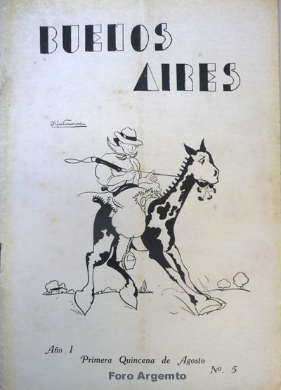 Dibujos Humorísticos de Benjamín Solari Parravicini Bajap110