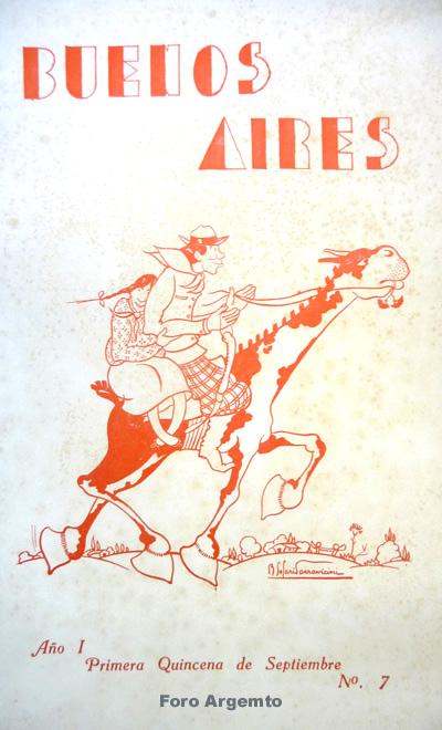 Dibujos Humorísticos de Benjamín Solari Parravicini Bajap115