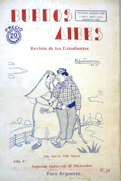 Dibujos Humorísticos de Benjamín Solari Parravicini Bajap116
