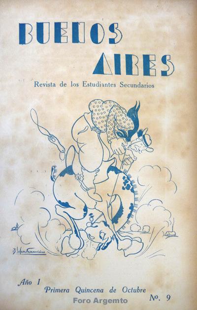 Dibujos Humorísticos de Benjamín Solari Parravicini Bajap117