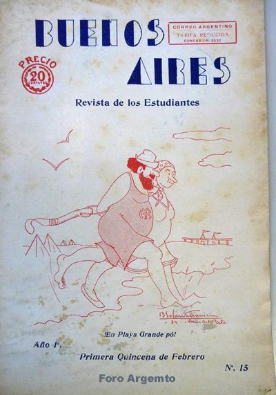 Dibujos Humorísticos de Benjamín Solari Parravicini Bajap118