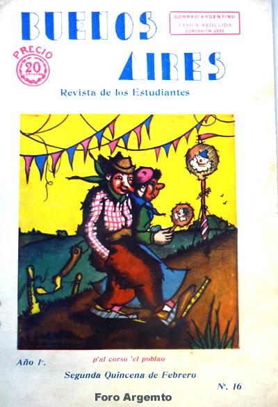 Dibujos Humorísticos de Benjamín Solari Parravicini Bajap119