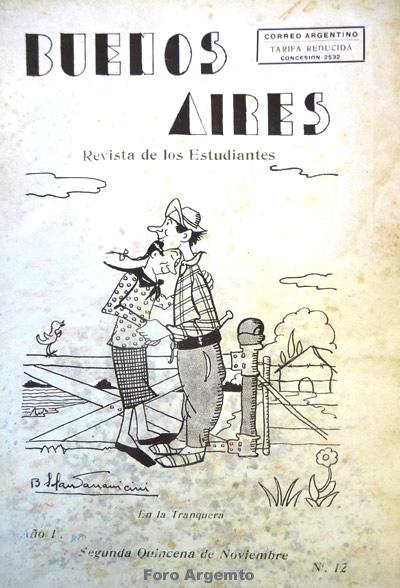 Dibujos Humorísticos de Benjamín Solari Parravicini Bajap120