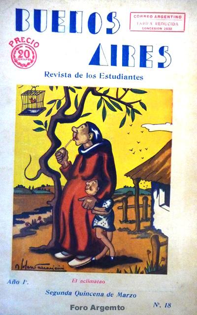 Dibujos Humorísticos de Benjamín Solari Parravicini Bajap121