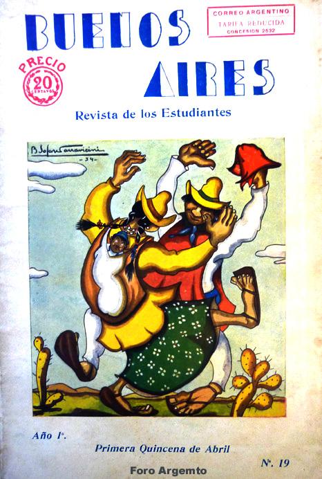 Dibujos Humorísticos de Benjamín Solari Parravicini Bajap124