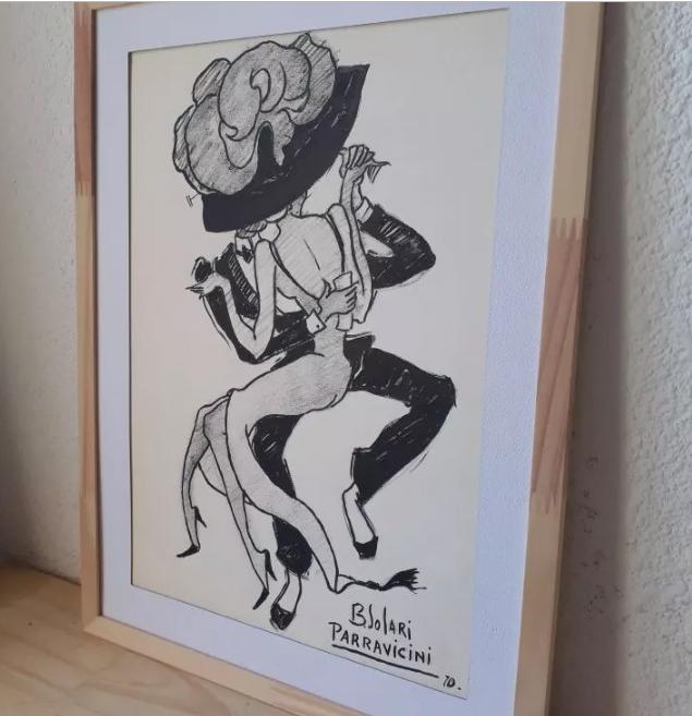 Dibujos a la venta de Parravicini Untitl17