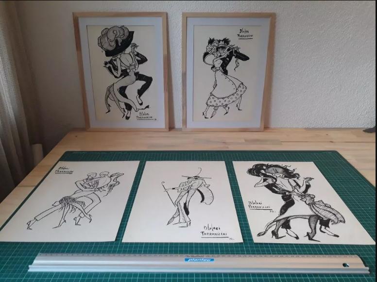 Dibujos a la venta de Parravicini Untitl21