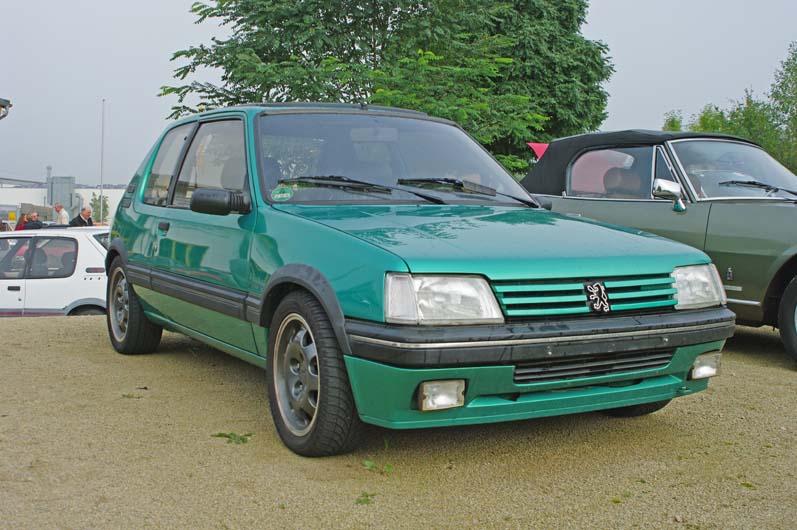 [LUX] 205 GTi Griffe - 122cv - AM91 - Vert Fluorite - N°1072/1652 Imgp6711