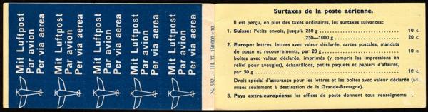 Luftpost Aufkleber (Airmail Sticker) Neu-410