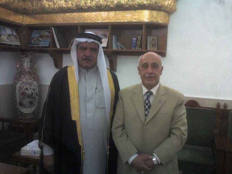 الاستاذ عبدالحسين الشيخ جعفرمحبوبة والشيخ وليدالصكر Photo-19