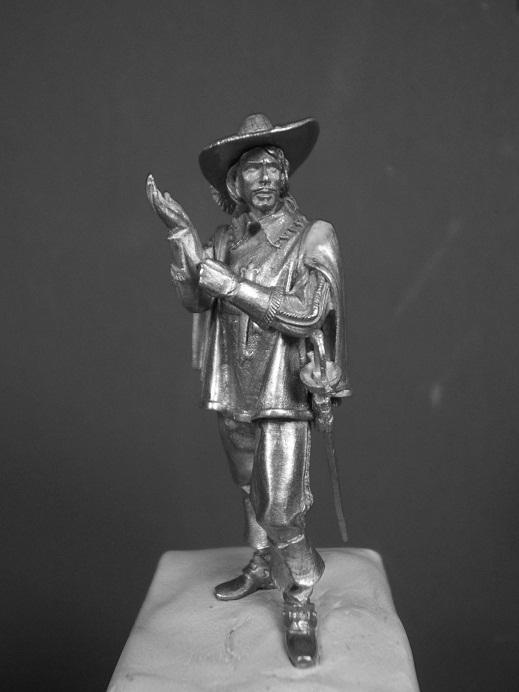 Porthos ca.1627(Andrea Miniatures 54mm) Dscf9328