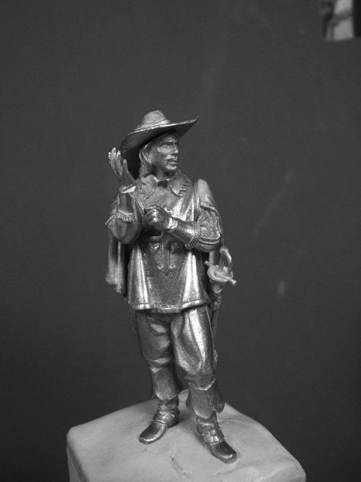 Porthos ca.1627(Andrea Miniatures 54mm) Dscf9332