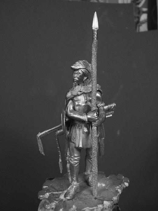 Northern Cheyenne Warrior (La Meridian Miniatures 54mm) Dscf9333