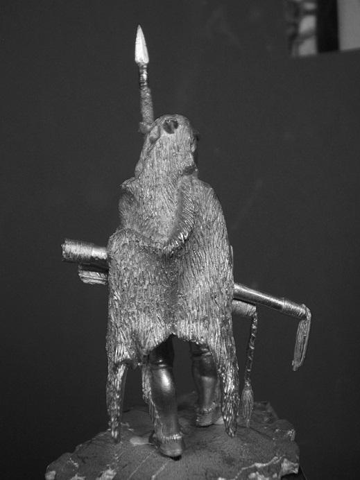 Northern Cheyenne Warrior (La Meridian Miniatures 54mm) Dscf9335