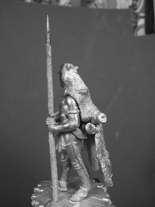 Northern Cheyenne Warrior (La Meridian Miniatures 54mm) Dscf9336