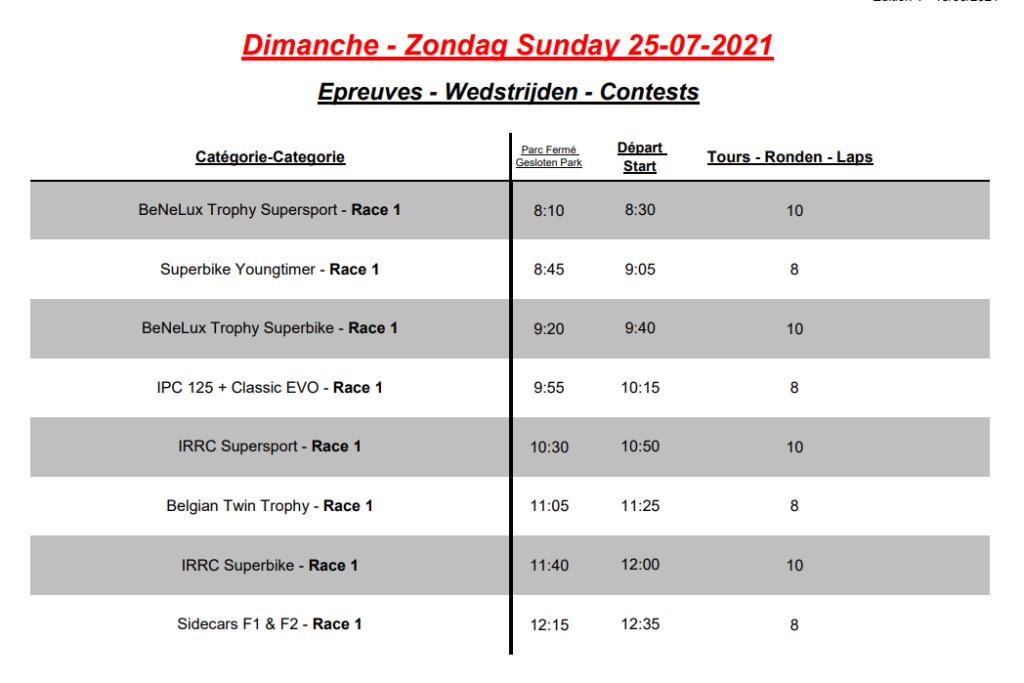 [Road racing] IRRC Chimay 2021  211