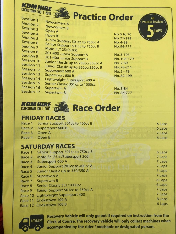 [Road racing] Cookstown 100  2019  Cook11