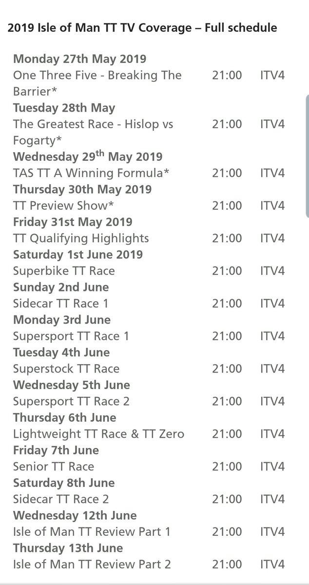 [Road racing] TT 2019  Tvtt10