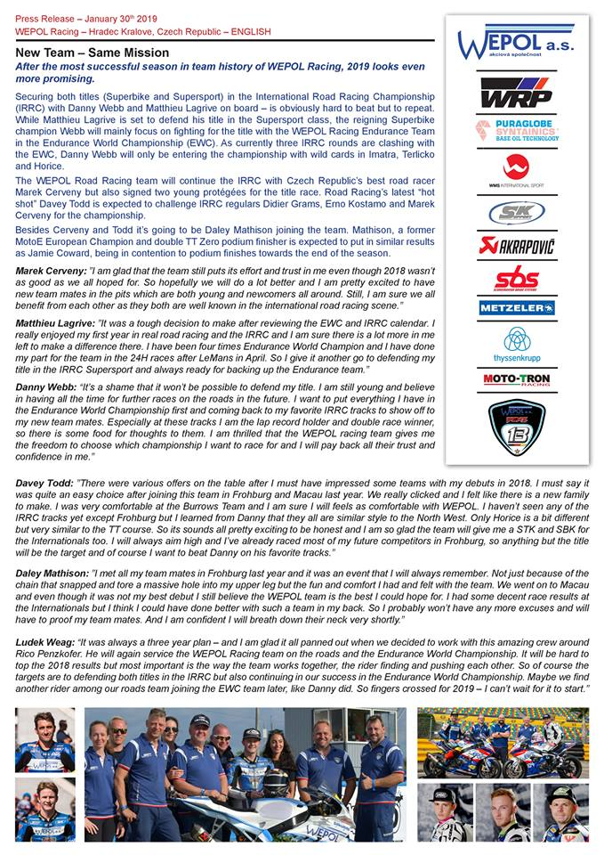 [Road racing] Saison 2019 Wepol10