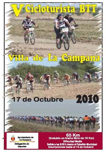 V CICLOTURISTA BTT VILLA DE LA CAMPANA 17-10-10 Cartel10