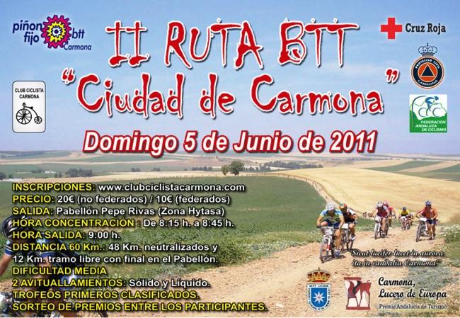 II RUTA BTT CIUDAD DE CARMONA 05-06-11 Cartel13