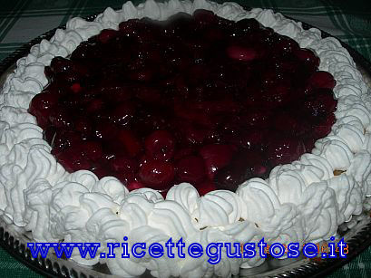 Cheesecake alle ciliegie Cheese10
