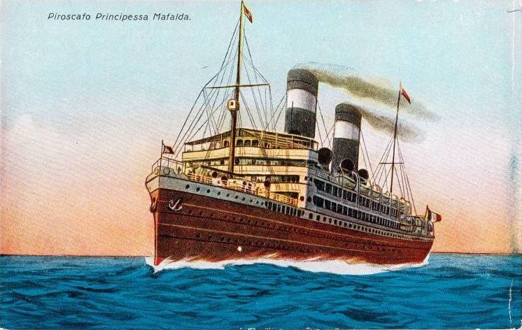 'Principessa Mafalda' - Lloyd Italiano - 1908 15_ngi10