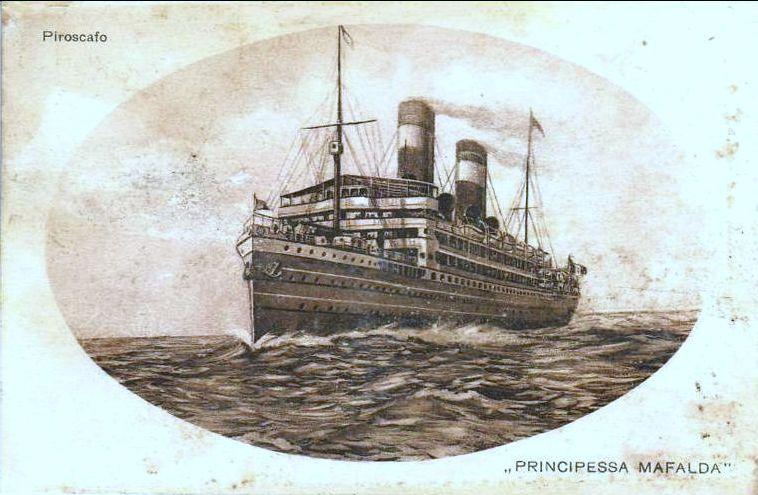 'Principessa Mafalda' - Lloyd Italiano - 1908 17_37510