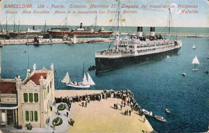 'Principessa Mafalda' - Lloyd Italiano - 1908 18_nav10