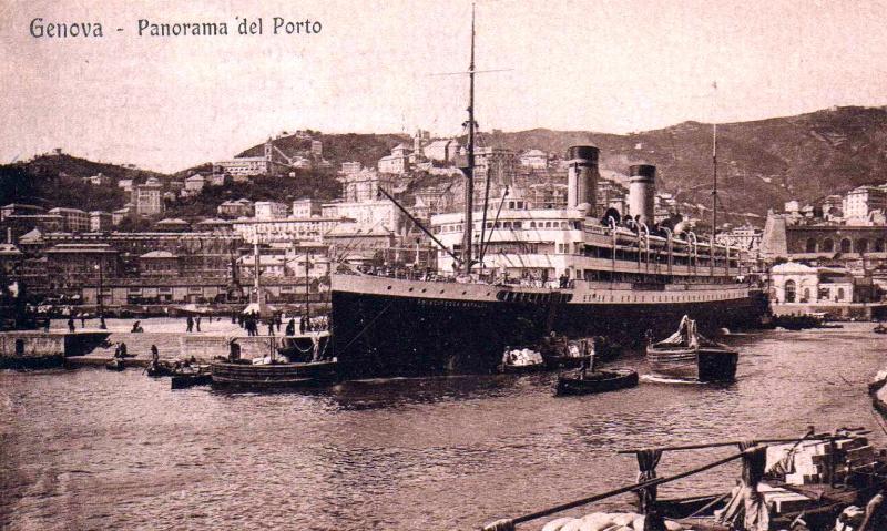 'Principessa Mafalda' - Lloyd Italiano - 1908 6a_pri10