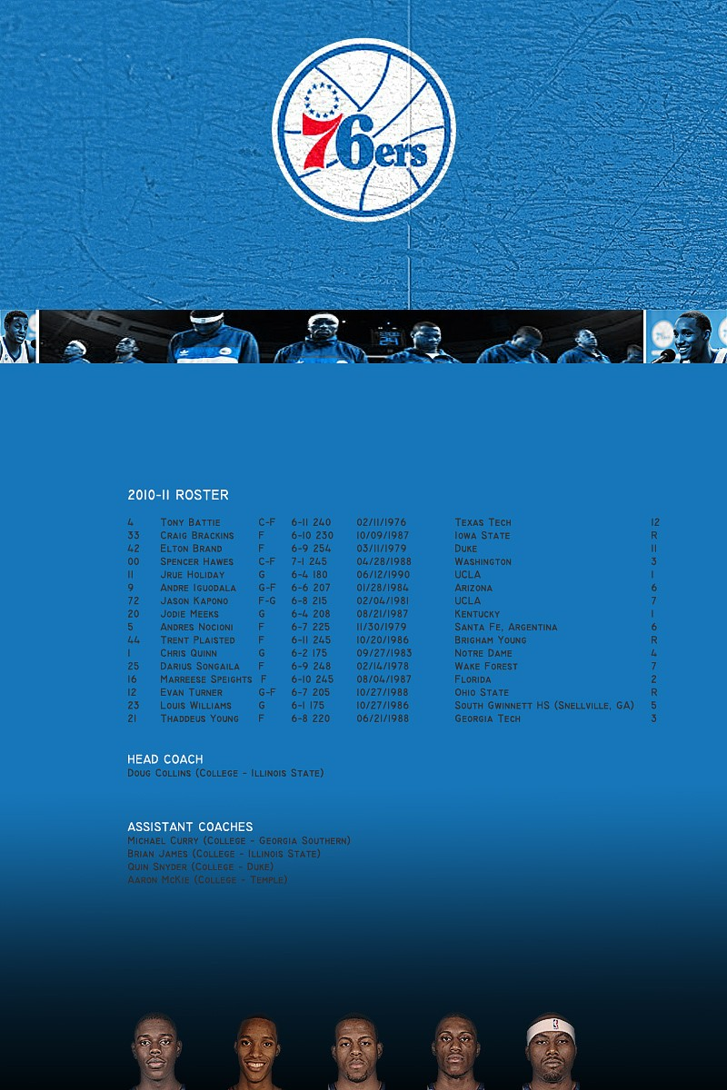 Philadelphia 76ers Phila10