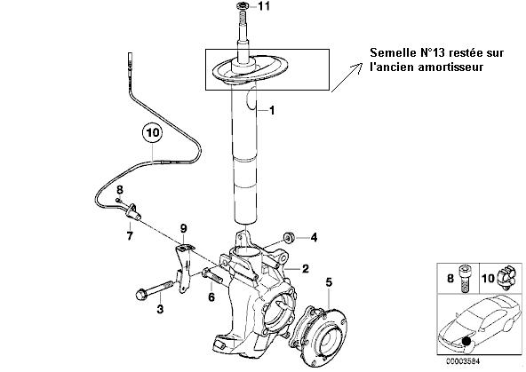 [ E39 525 tds M51 an 1998 ] Bruit suite à remplacement amortisseurs avants 9_jamb10
