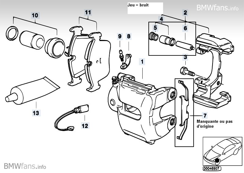[ Bmw e46 320D an 2000 ] Problème bruit train roulant avant (résolu) Etrier10