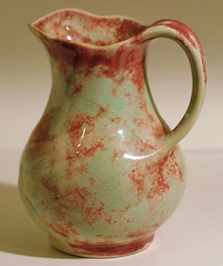 The amazing running glazed 51 jug/vase _51_va10
