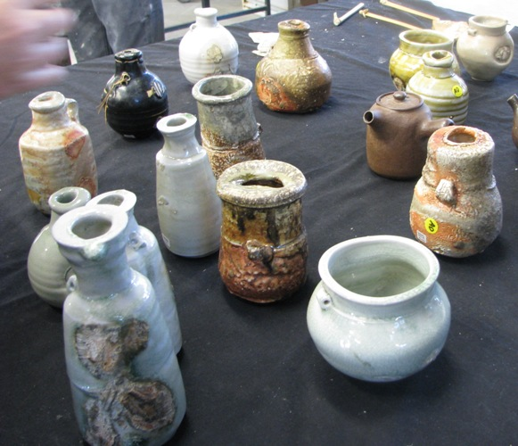Pics of Chester Nealie pots from his workshop June 2010 Cheste12