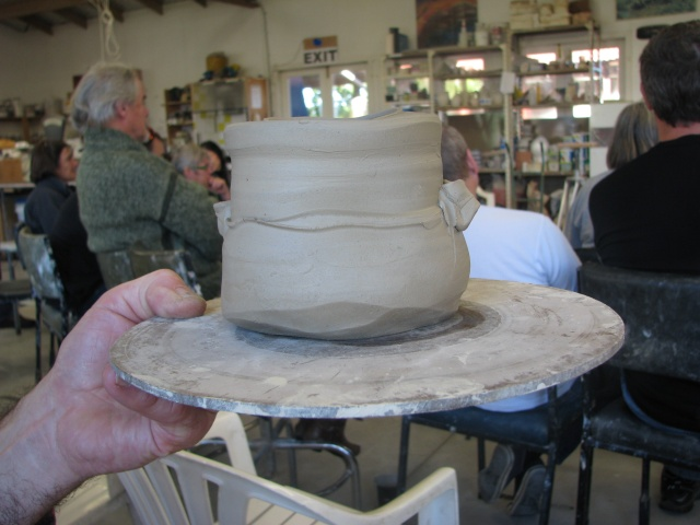 Pics of Chester Nealie pots from his workshop June 2010 Cheste14