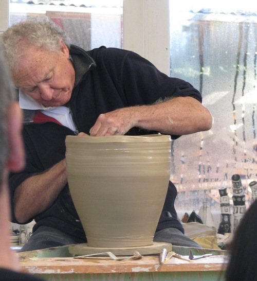 Pics of Chester Nealie pots from his workshop June 2010 Cheste16
