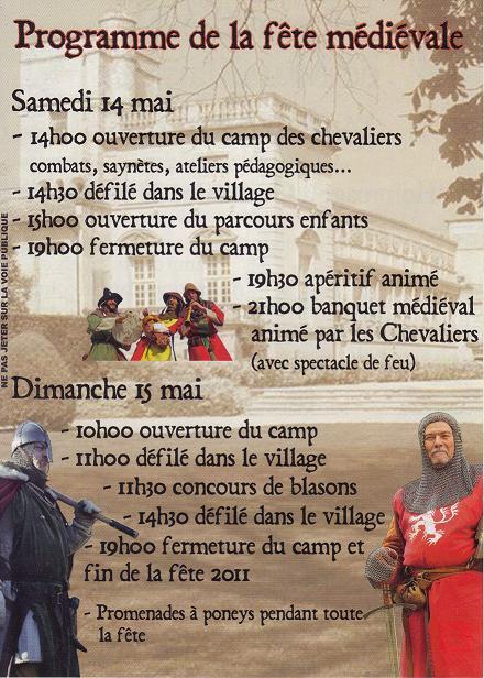 Fêtes médiévales.  - Page 2 210