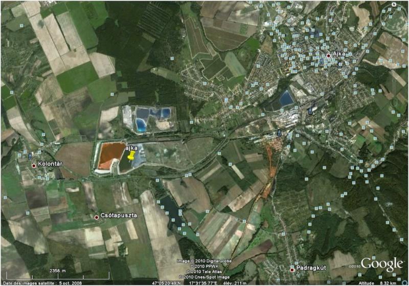 Catastrophe écologique en Hongrie Ajka10