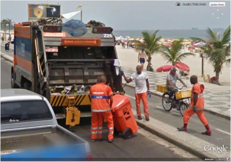 STREET VIEW : Bikini à Rio (Brésil) (((INTERDIT AU MOINS DE 18 ANS))) Camion10