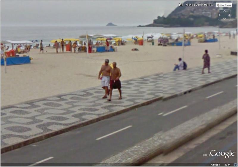STREET VIEW : Bikini à Rio (Brésil) (((INTERDIT AU MOINS DE 18 ANS))) Couple10