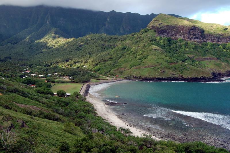 A la découverte des îles de la Polynésie française avec Google Earth (Les Marquises) Hane-u10