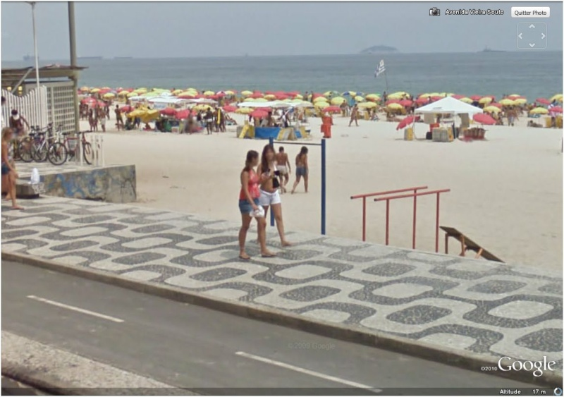 STREET VIEW : Bikini à Rio (Brésil) (((INTERDIT AU MOINS DE 18 ANS))) Jolie_10