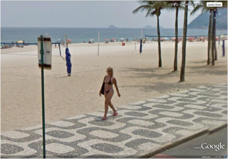 STREET VIEW : Bikini à Rio (Brésil) (((INTERDIT AU MOINS DE 18 ANS))) Jolie_11